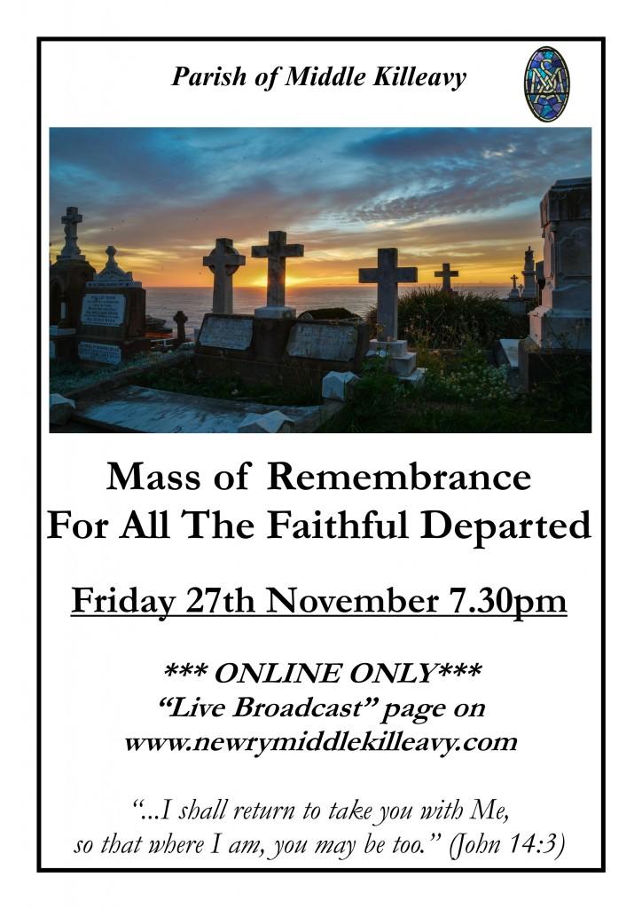 2020 Mass of Remembrance November