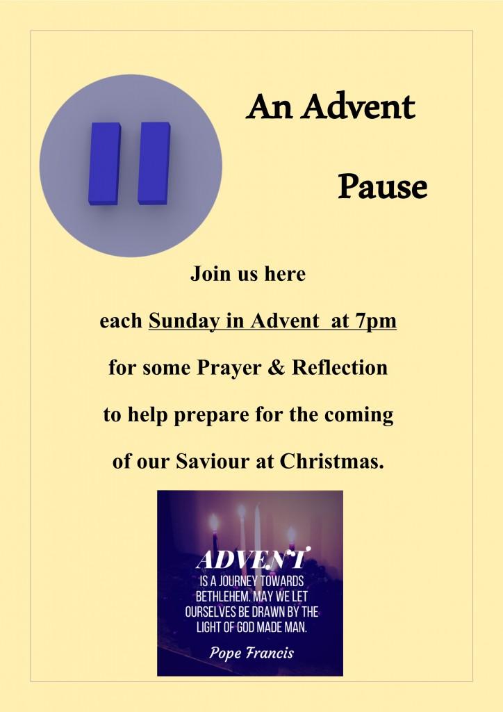 Advent Pause 2018