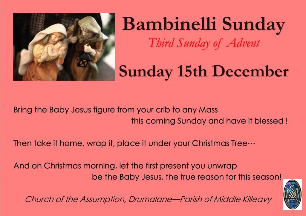 Bambinelli Sunday Poster