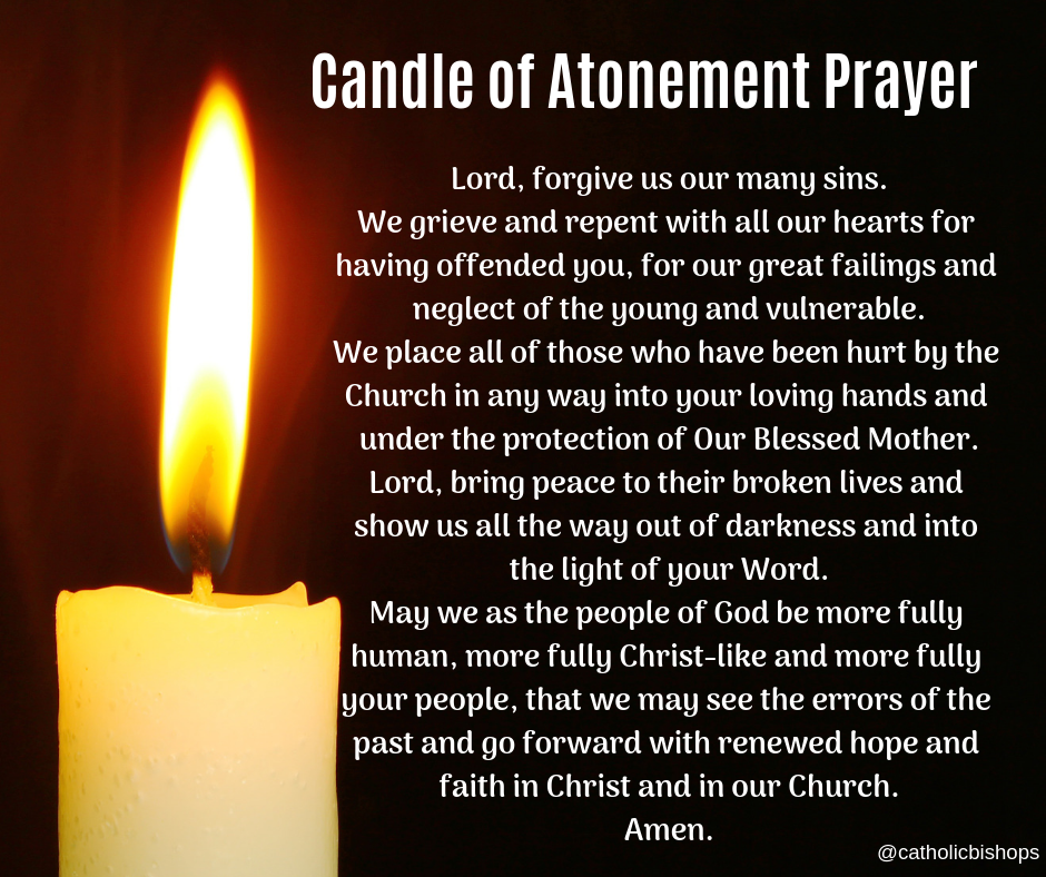 Candle of Atonement Prayer