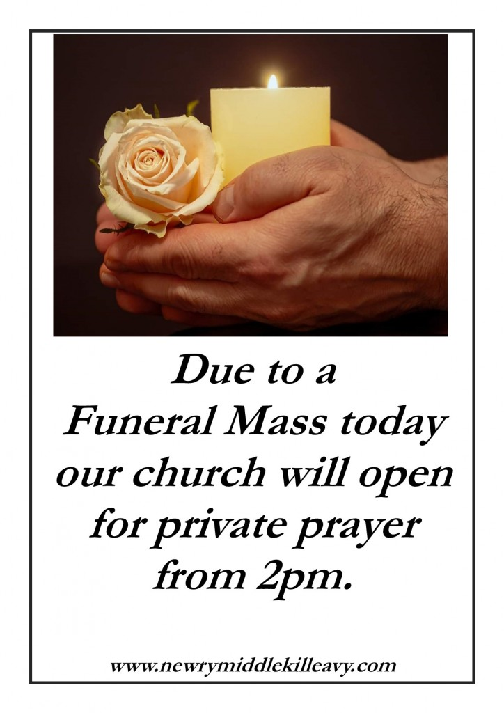 Change of Opening Time due to Funeral