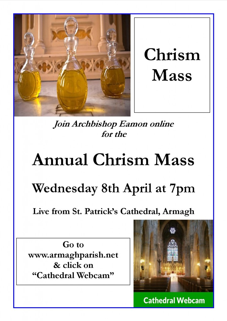 Chrism Mass Poster 2020