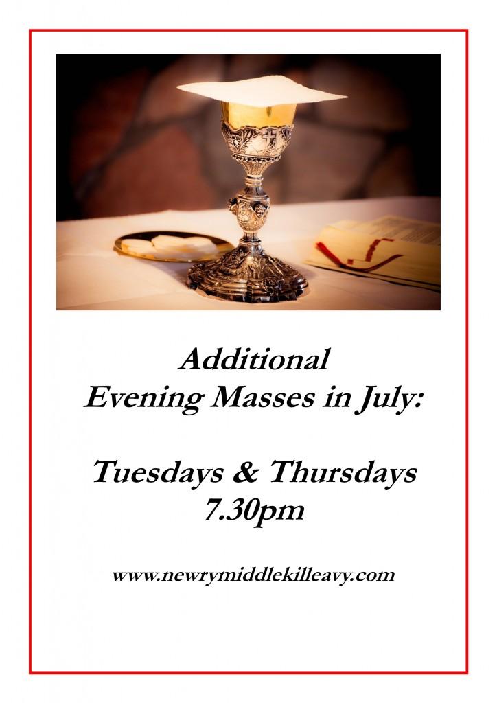 Extra Evening Masses_June 2020