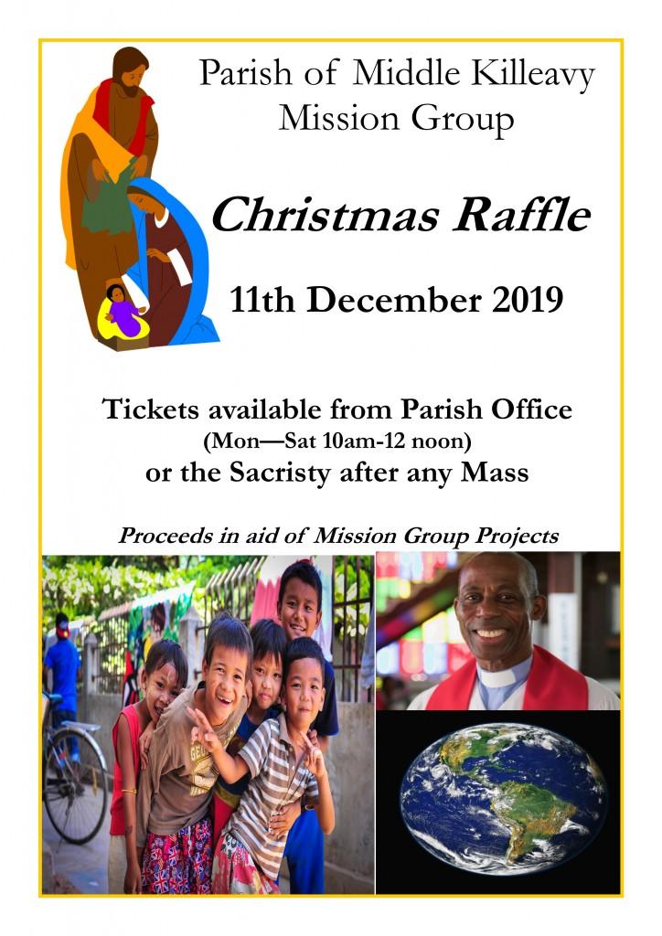 Mission Group Christmas Raffle