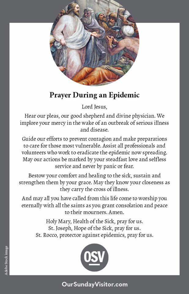OSV_Prayer During an Epidemic