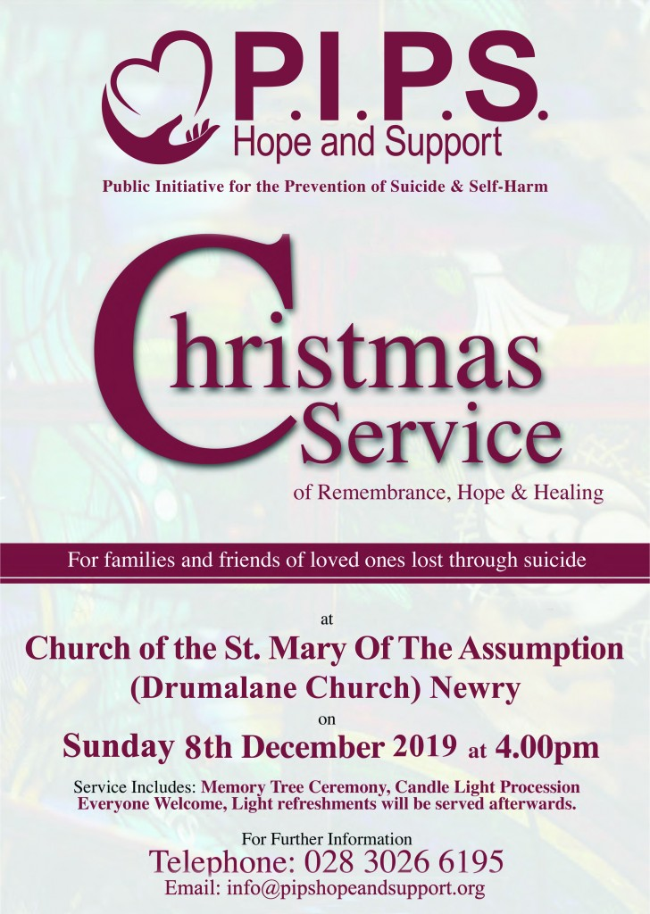 PIPS Christmas Service Poster 2019