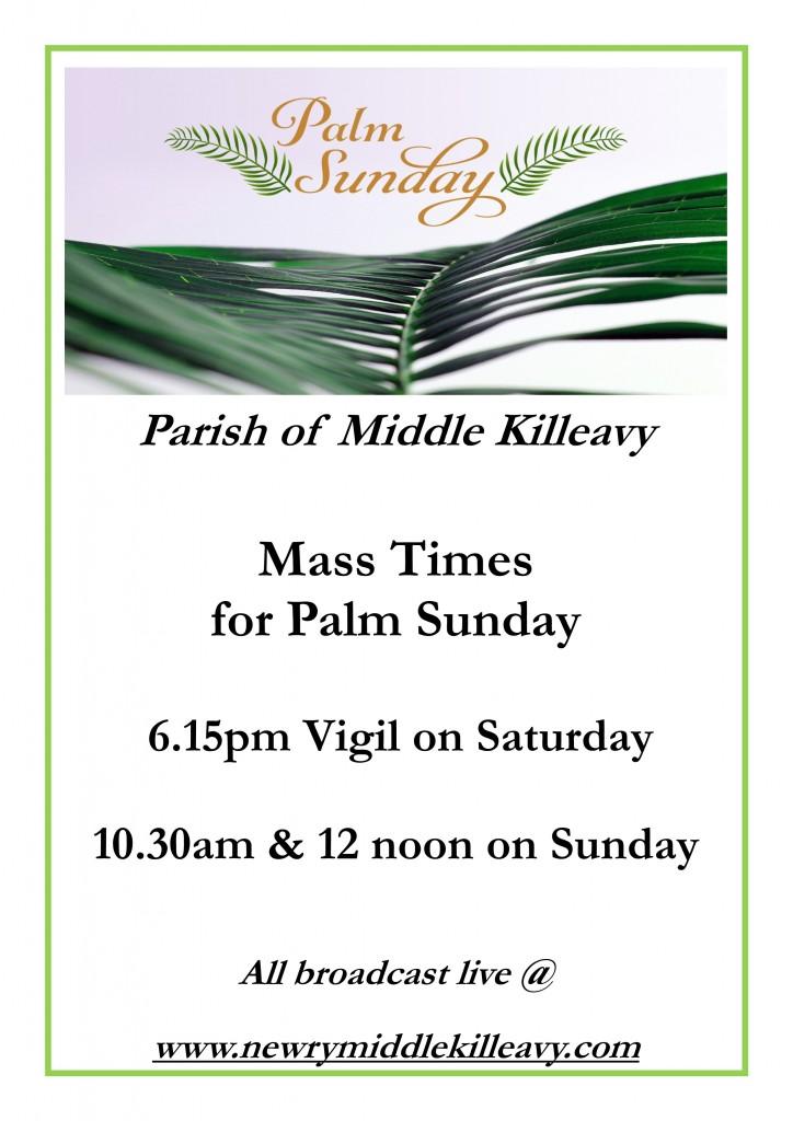 Palm Sunday_Mass Times