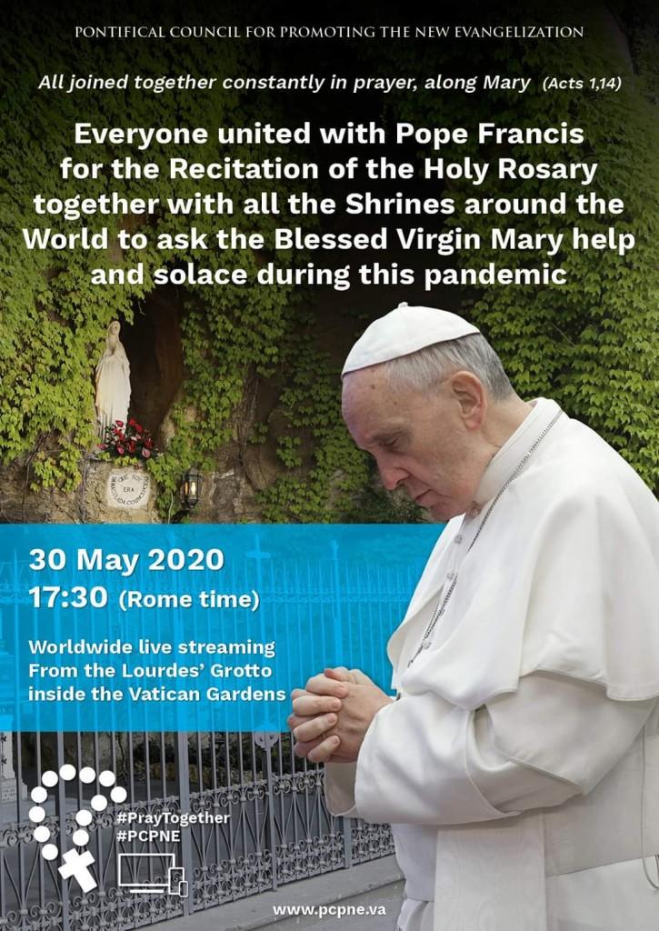 Pope Francis Prayer 30 May 2020