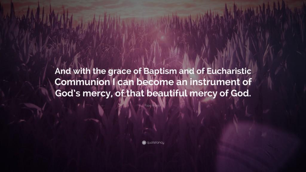 Pope Francis_Mercy_Baptism