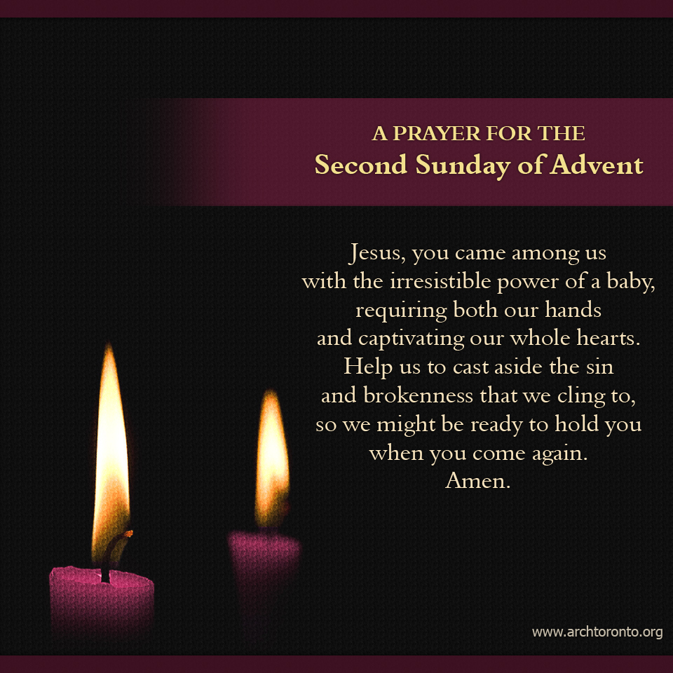 Prayer for 2nd Sun of Advent