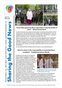 Sharing the Good News May 2019 - Front page