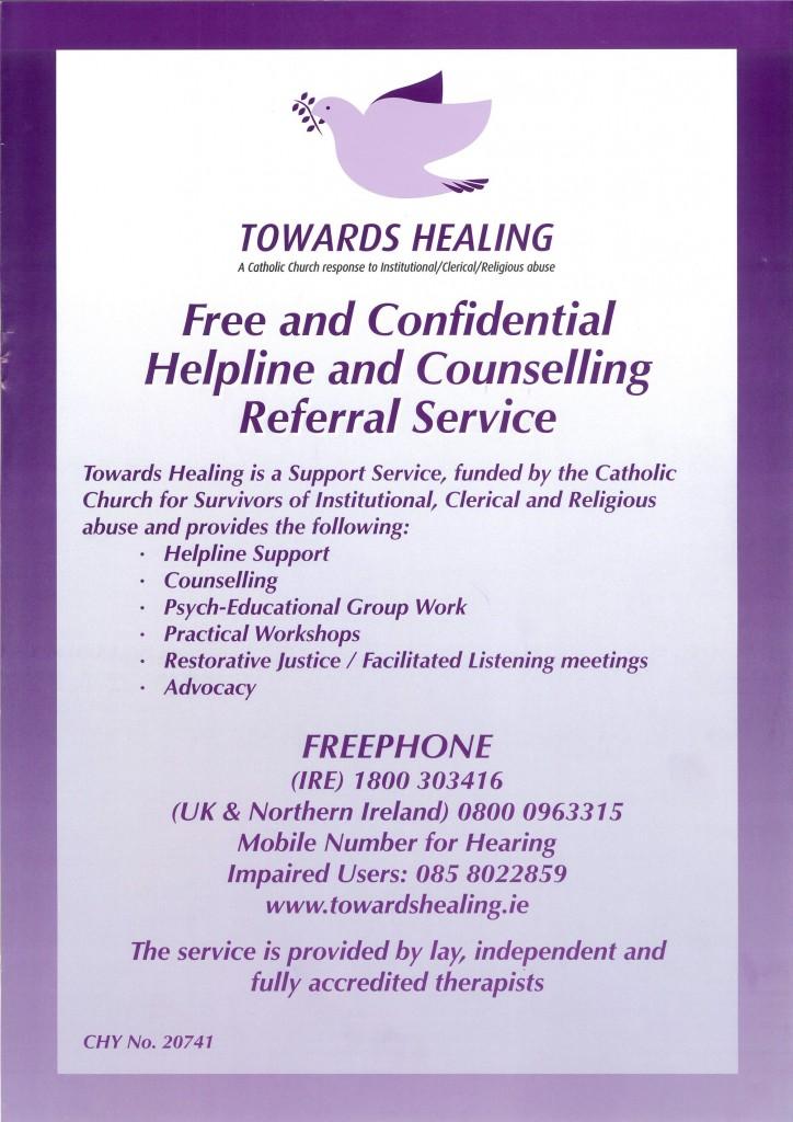 Towards Healing Poster 2020