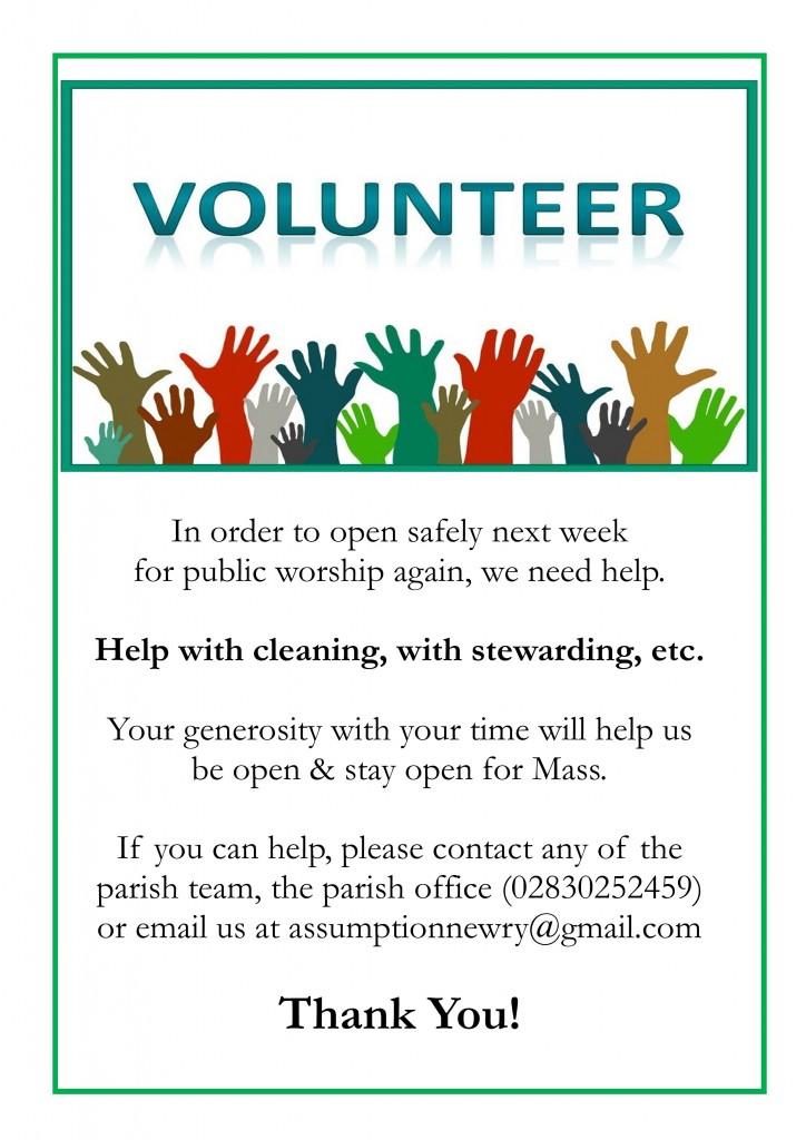 Volunteers Needed_June 2020