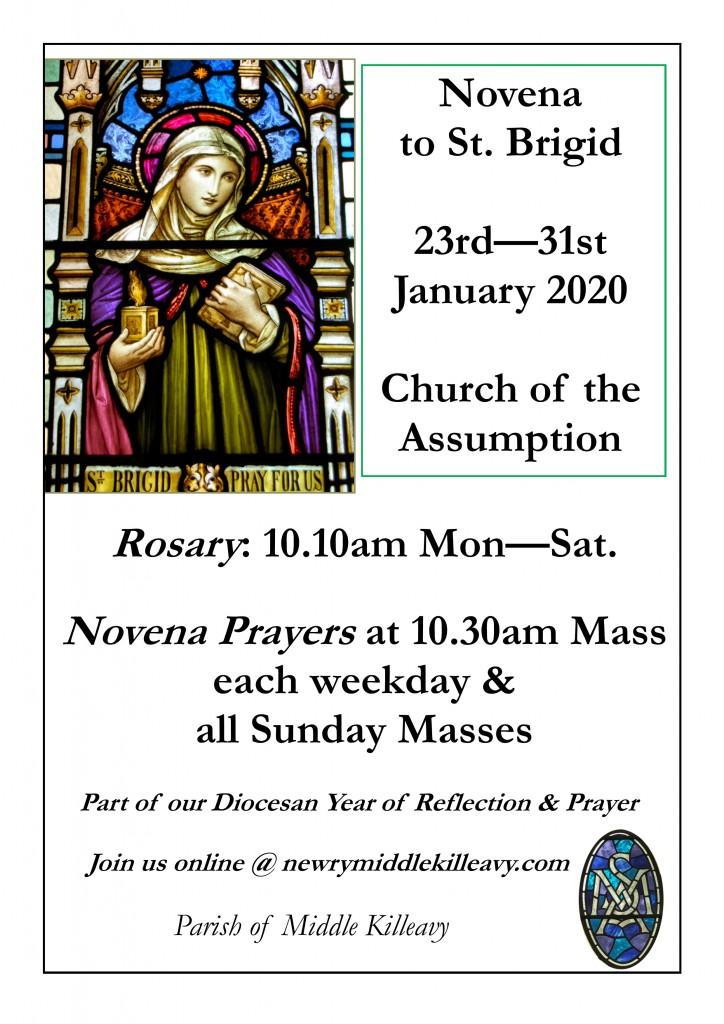 Year of Reflection & Prayer_St. Brigid Novena Poster