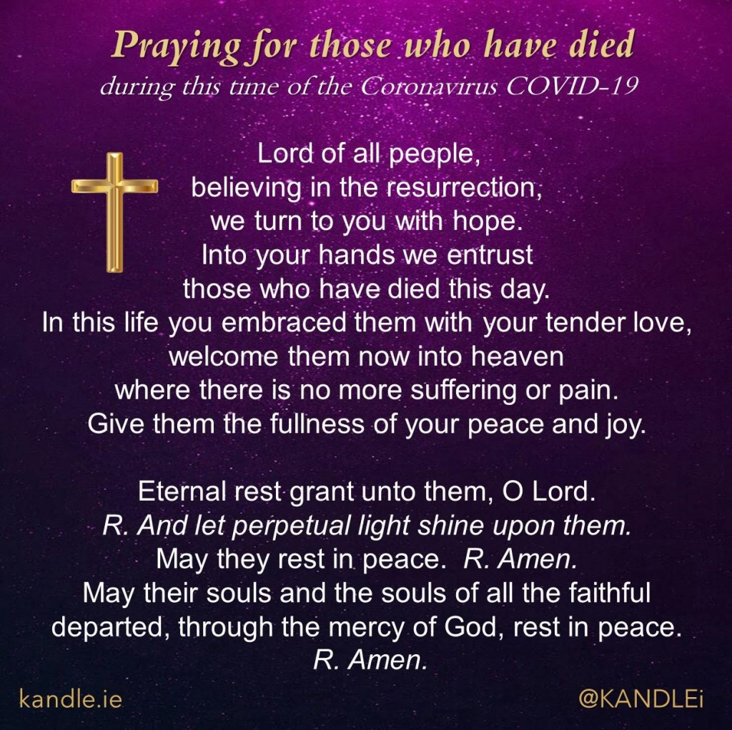 Praying for Those Who Have Died