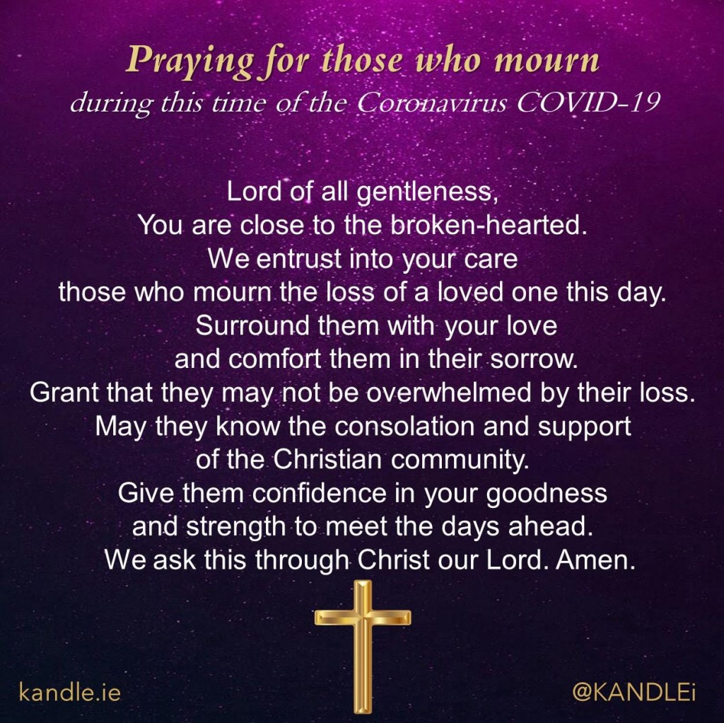 Praying for Those Who Mourn